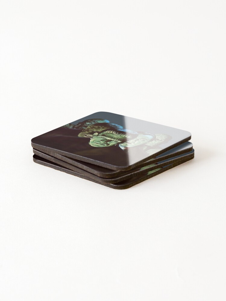 Alternate view of Gang of Monsters  Coasters (Set of 4)