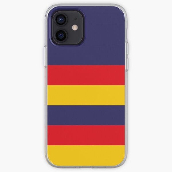 Adelaide Crows FC colours iPhone Case iPhone Soft Case