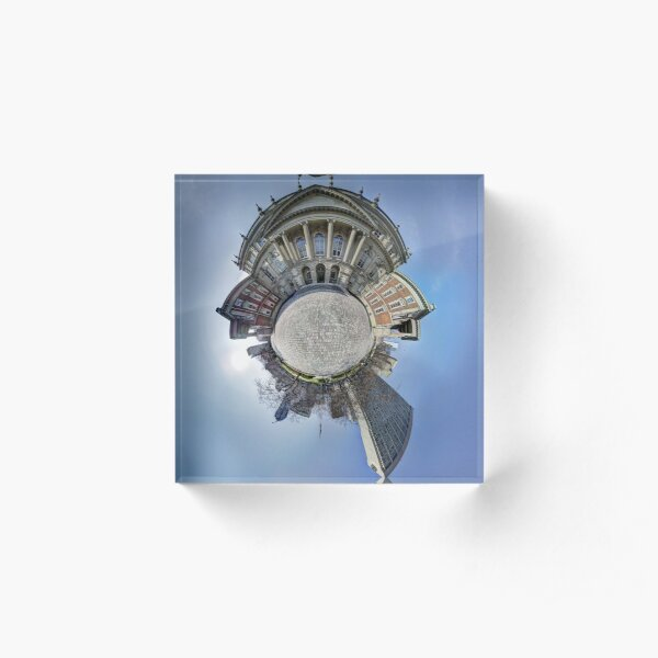 Osgoode Hall Planet Acrylic Block