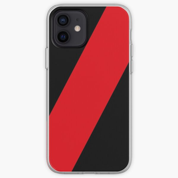 Essendon Bombers colours iPhone Case - straight sash iPhone Soft Case