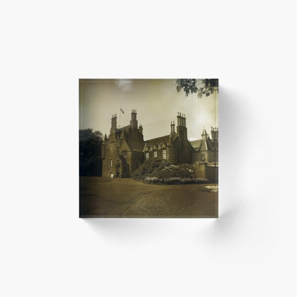 Lauriston Castle Acrylic Block