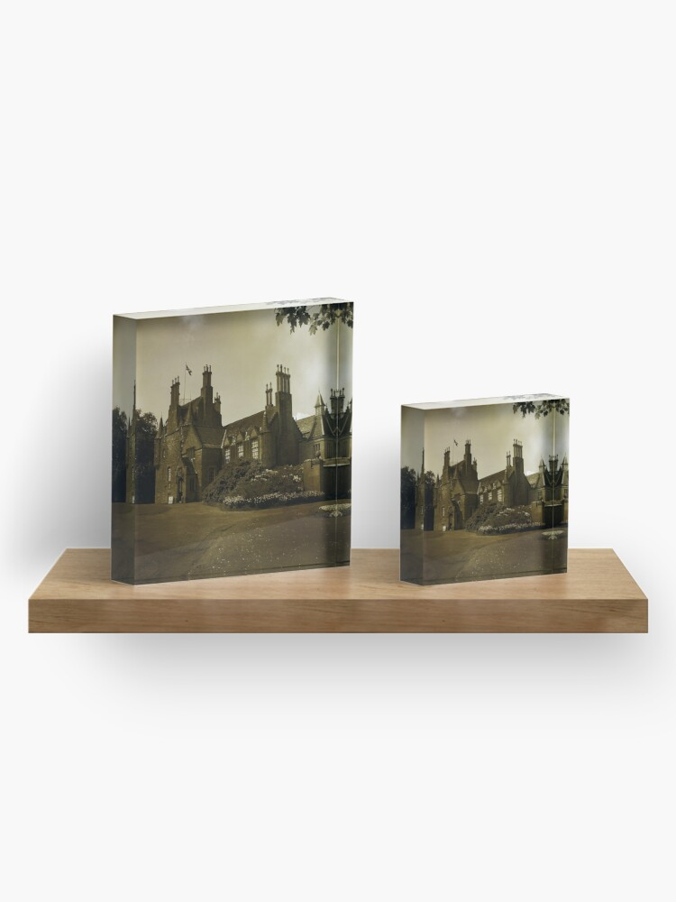 Alternate view of Lauriston Castle Acrylic Block