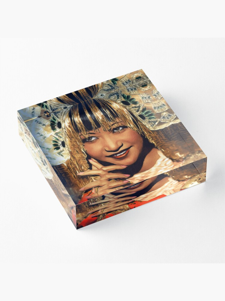 Alternate view of Anna May Wong, Hollywood Legend Acrylic Block