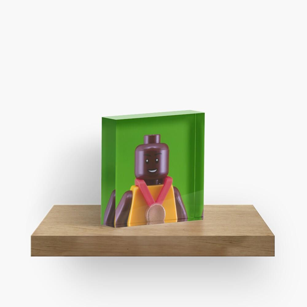 Usain Bolt Portrait Acrylic Block