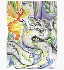 Fawkes and the Basilisk Poster