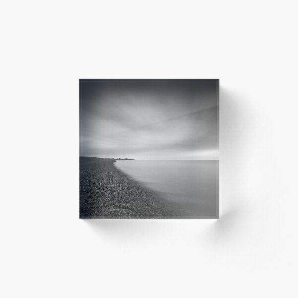 Aldeburgh Beach at Dawn, Suffolk Acrylic Block
