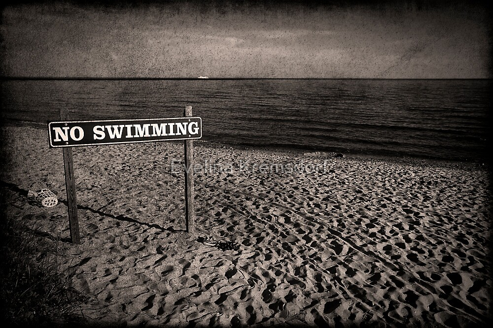 No Swimming by Evelina Kremsdorf
