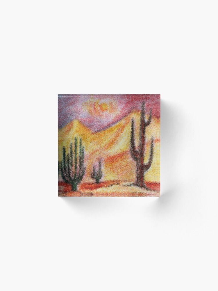 Alternate view of Desert Acrylic Block