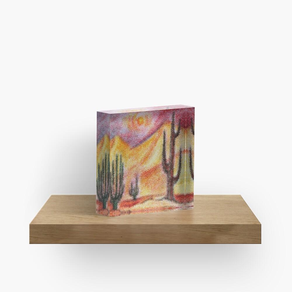 Desert Acrylic Block