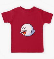 Boo - Mario Kids Tee