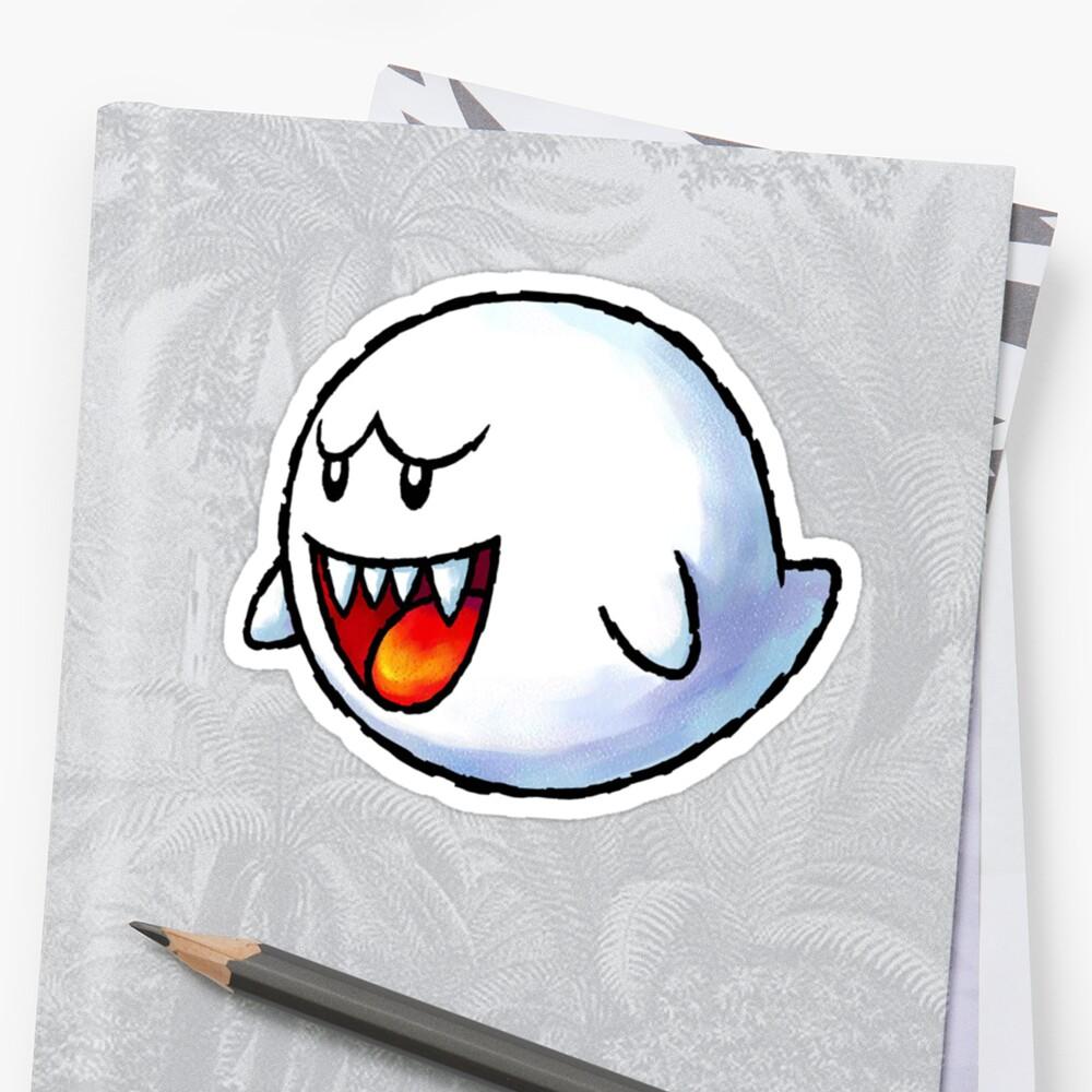 Boo - Mario by missbrodrick