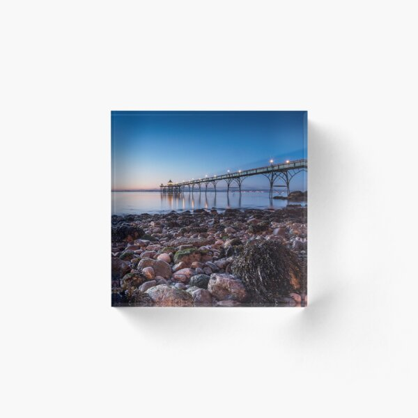 Blue Hour @ the Pier Acrylic Block