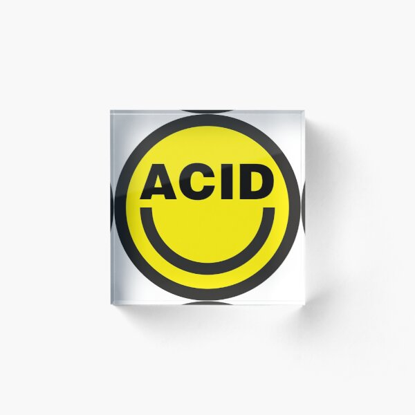 Acid House Acrylic Block