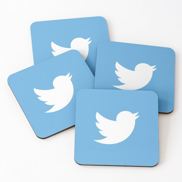 Twitter Coasters (Set of 4)