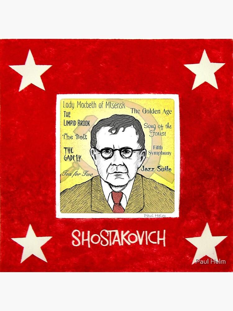 Dmitri SHOSTAKOVICH - the Russian composer by paulhelm