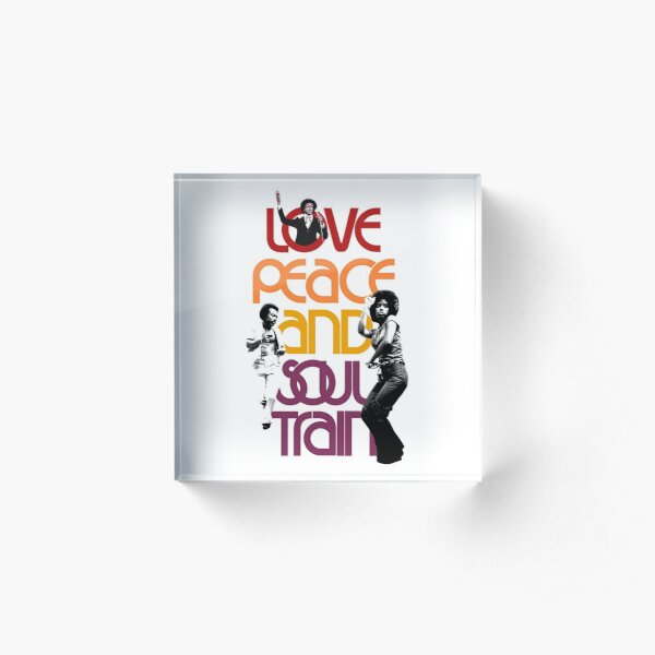 Soul Train Acrylic Block
