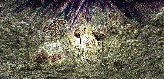 Butterfly Garden von blotter747