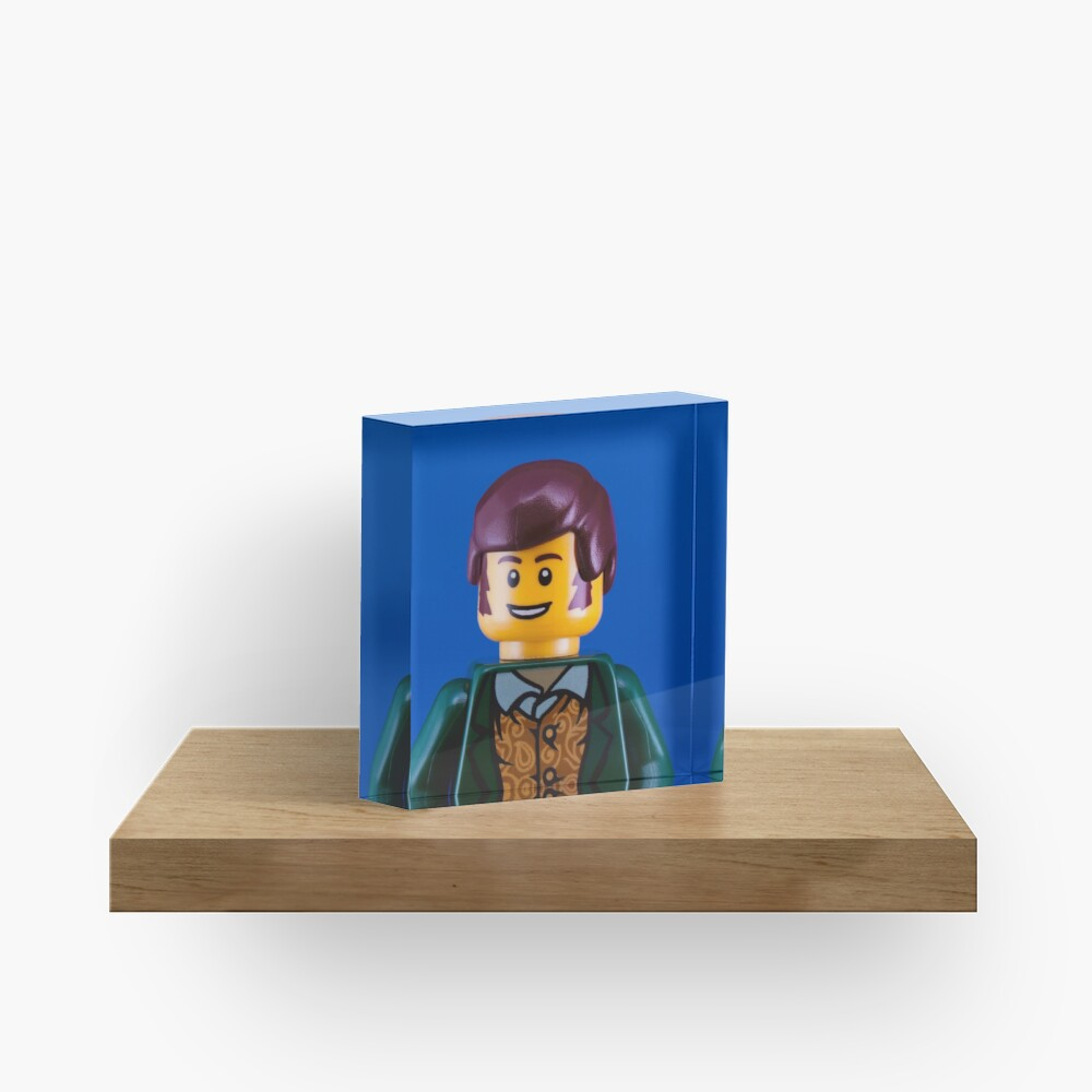 Robbie Burns Portrait Acrylic Block