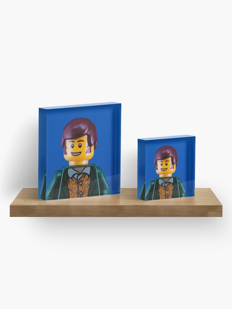 Alternate view of Robbie Burns Portrait Acrylic Block