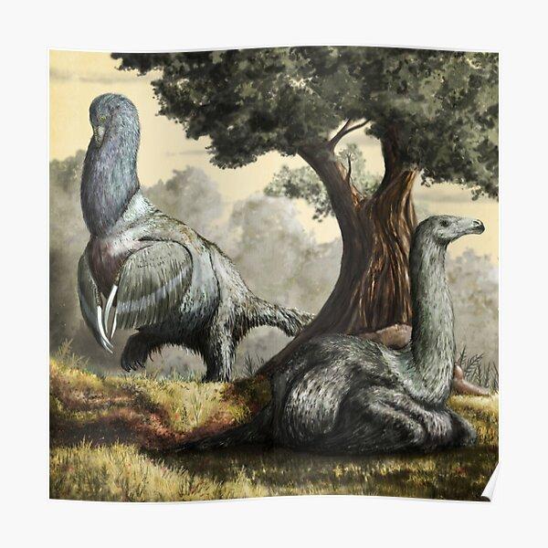 Therizinosaurus cheliformis Poster