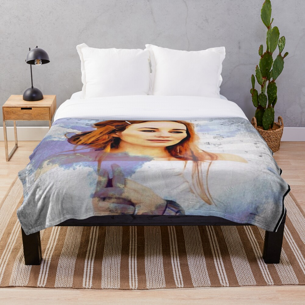 Tori Amos Scarlet's Walk Your Cloud Throw Blanket