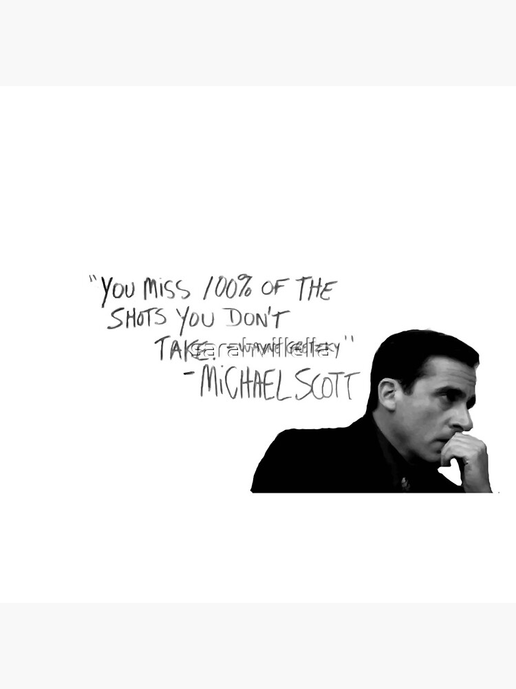 the office michael scott  by sarahvillella