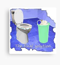 The final solution Canvas Print