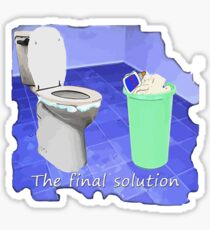 The final solution Sticker