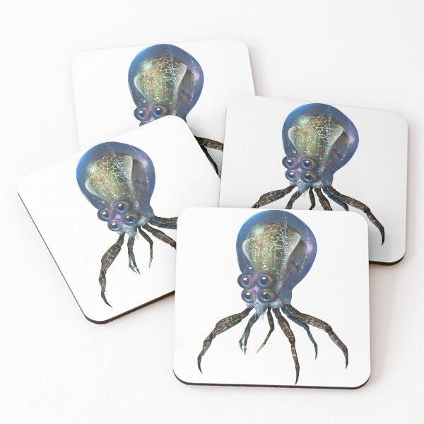 Crabsquid Coasters (Set of 4)