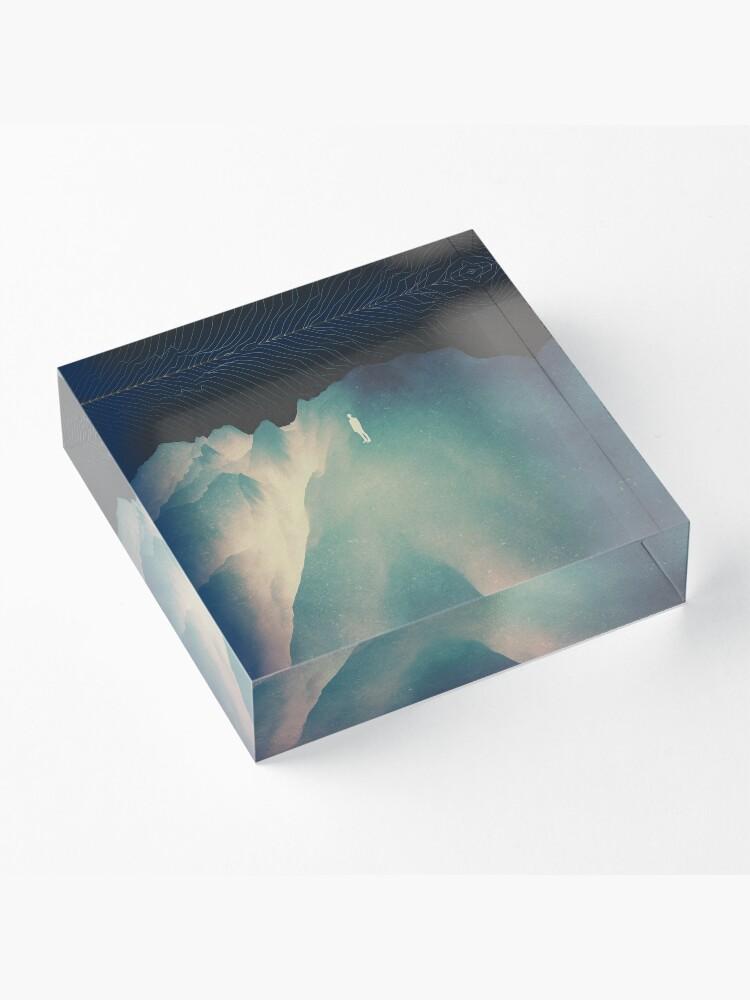 Alternate view of Falling Acrylic Block