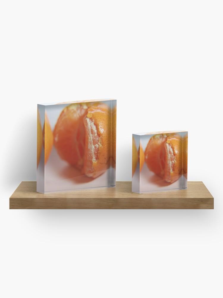Alternate view of Mandarin Acrylic Block