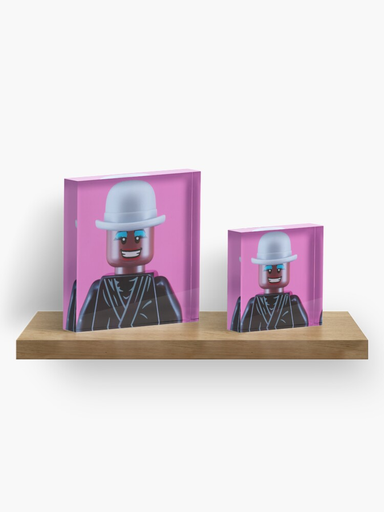 Alternate view of Grace Jones Portrait Acrylic Block