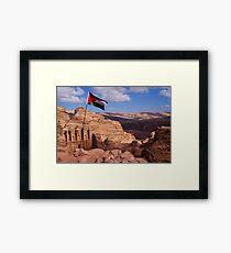 Monastery Petra, Jordan Framed Print