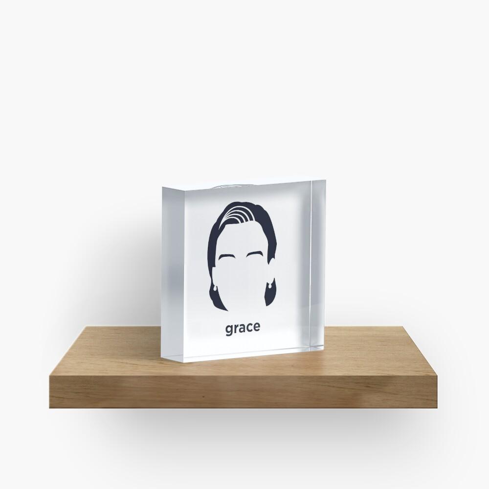 Grace Hopper (Historia hirsuta) Bloque acrílico