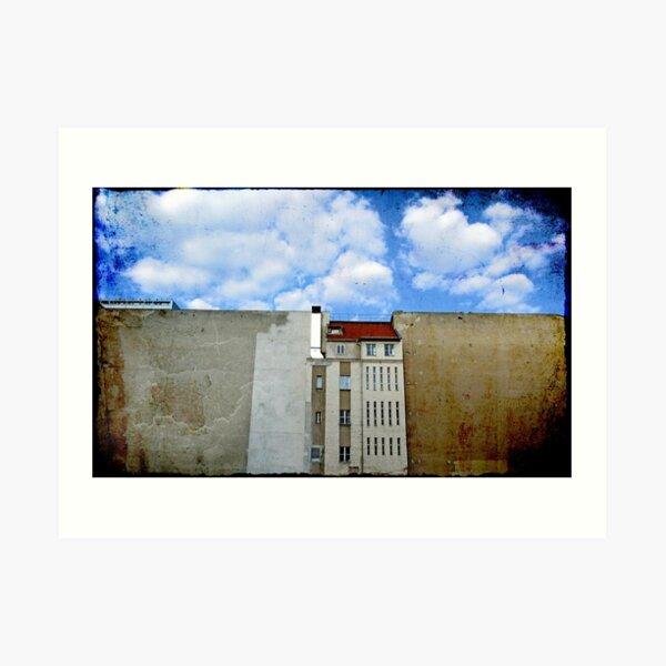 Das Mauerhaus Kunstdruck