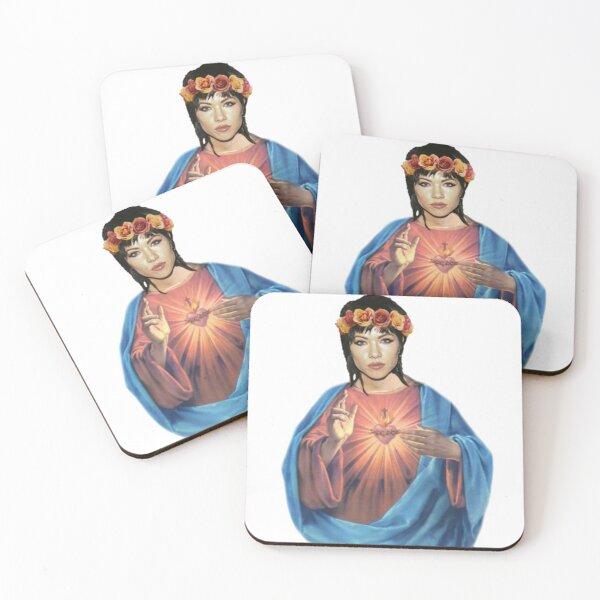 Carlegend Slay Jepsus Coasters (Set of 4)