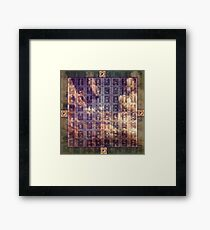 All Possibilities In Time - The Book of Changes Framed Print