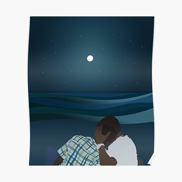Chiron and Kevin (Moonlight 2016) Poster