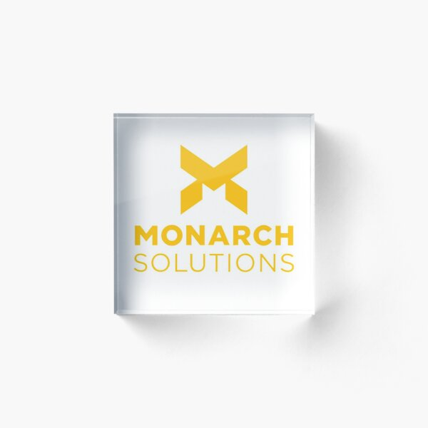 Monarch Solutions - Quantum Break Acrylic Block