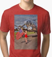 Yankee Girl Tri-blend T-Shirt