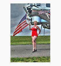 Yankee Girl 3 Photographic Print