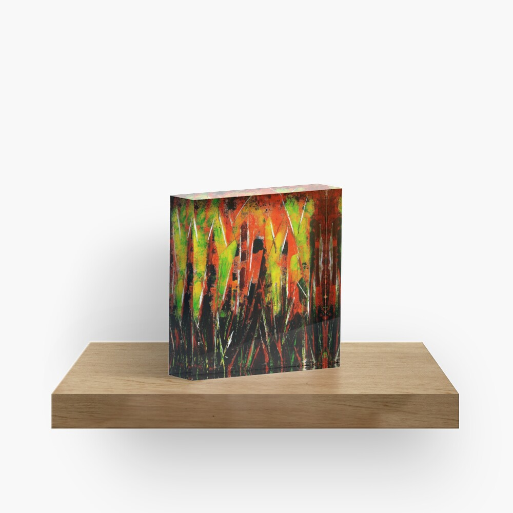 It's A Jungle Out There Acrylic Block