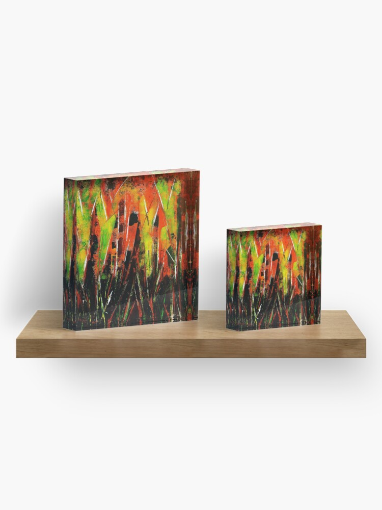 Alternate view of It's A Jungle Out There Acrylic Block