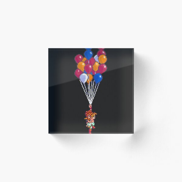Balloon Celebration Acrylic Block