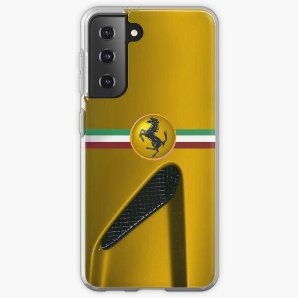 The Horse ~Yellow Samsung Galaxy Soft Case
