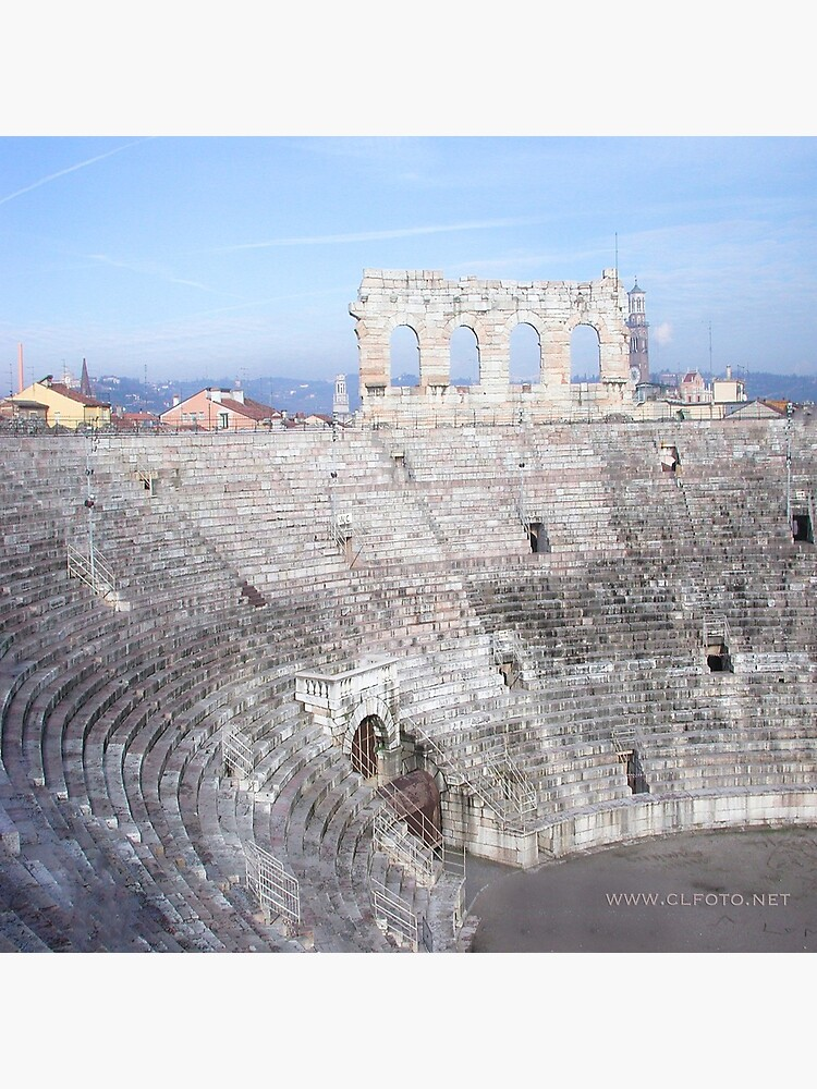 Winter inside L'Arena, Verona, Italy by leemcintyre