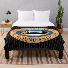 Manta El hogar es donde el sabueso duerme.