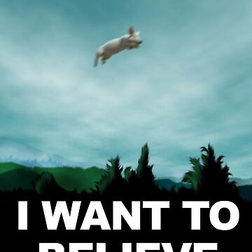 I Want To Believe by ch3rrybl0ss0m