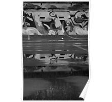 Carpark Grafitti Poster