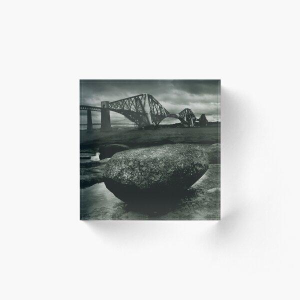 Big Rock Big Bridge Acrylic Block